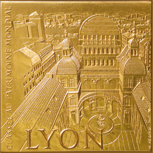 The official medal of the city of Lyons