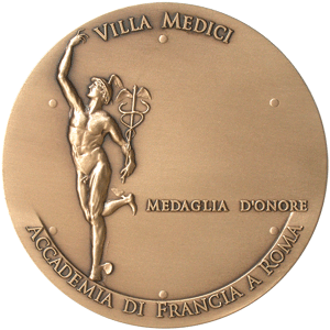 Medal of the Villa Medicis, Academie de France in Rome